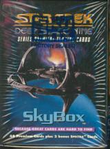 """1993 SKYBOX STAR TREK DEEP SPACE NINE BOX SET 48+2 BONUS  """""""""""