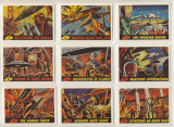 1984 R.G.I. Mars Attack Reprint Set (56) (1) Miss-cut  """"