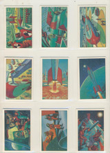1980 WTW Reprint Jets, Rockets & Spacemen Set 108  """"