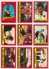 1984 Topps Indiana Jones Temple Of Doom Set 88/11  """"