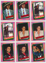 1984 Topps Michael Jackson Series 1 Set 33/33 With 18 Extras  """"