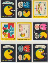 1980 Fleer Pac Man Set 54 +  Game Cards   #*