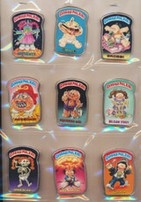 1986 Topps Garbage Pail Kids Buttons Set 12  """"