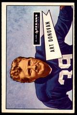 1952 Bowman Large #46 Art Donovan Ex-Mint RC Rookie SP