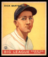 1933 Goudey #28 Dick Bartell Very Good RC Rookie