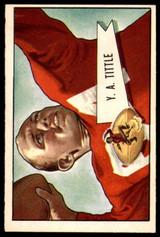 1952 Bowman Large #17 Y. A. Tittle Excellent+