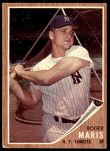 1962 Topps #1 Roger Maris Excellent  ID: 235576