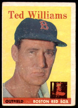 1958 Topps #1 Ted Williams Very Good  ID: 258032