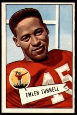 1952 Bowman Large #39 Emlen Tunnell Ex-Mint