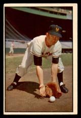 1953 Bowman Color #1 Davey Williams Excellent