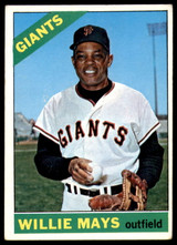 1966 Topps #1 Willie Mays Very Good  ID: 246320