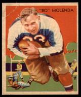 1935 National Chicle #2 Bo Molenda Very Good RC Rookie