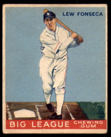 1933 Goudey #43 Lew Fonseca Excellent RC Rookie
