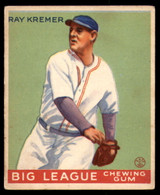 1933 Goudey #54 Ray Kremer Excellent+ RC Rookie