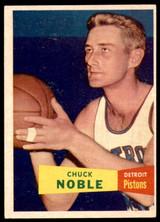 1957 Topps #11 Chuck Noble DP Ex-Mint