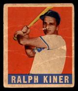 1948-49 Leaf #91 Ralph Kiner Poor