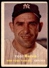 1957 Topps #2 Yogi Berra Very Good  ID: 233384