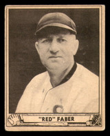 1940 Play Ball #230 Red Faber VG+