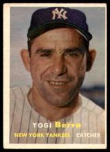 1957 Topps #2 Yogi Berra Very Good  ID: 226275