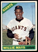 1966 Topps #1 Willie Mays Very Good  ID: 235798