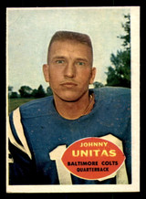 1960 Topps #1 Johnny Unitas Ex-Mint  ID: 268845