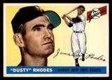 1955 Topps #1 Dusty Rhodes Ex-Mint