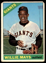 1966 Topps #1 Willie Mays Good  ID: 211351