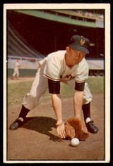 1953 Bowman Color #1 Davey Williams Excellent+