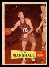 1957 Topps #22 Tom Marshall Ex-Mint