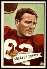 1952 Bowman Large #12 Charley Trippi Excellent+
