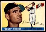 1955 Topps #1 Dusty Rhodes VG-EX