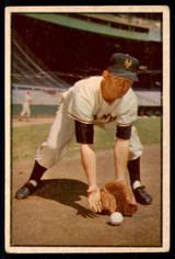 1953 Bowman Color #1 Davey Williams G-VG  ID: 213479