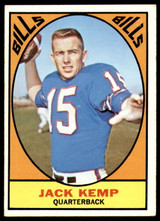 1967 Topps #24 Jack Kemp Excellent  ID: 244303