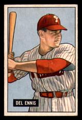 1951 Bowman #4 Del Ennis Ex-Mint