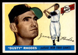 1955 Topps #1 Dusty Rhodes Excellent+  ID: 297434