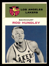 1961-62 Fleer #21 Rod Hundley Excellent  ID: 288298
