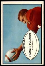 1953 Bowman #7 Fran Polsfoot Near Mint+