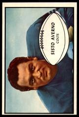 1953 Bowman #8 Sisto Averno Near Mint+
