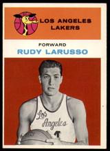 1961-62 Fleer #26 Rudy Larusso Ex-Mint RC Rookie
