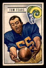 1951 Bowman #6 Tom Fears Excellent+