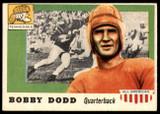 1955 Topps All American #11 Bobby Dodd Near Mint SP
