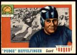 1955 Topps All American #18 Pudge Heffelfinger Ex-Mint RC Rookie SP