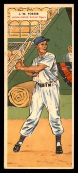 1955 Topps Double Header #9 J.W. Porter/Thornton Kipper Ex-Mint