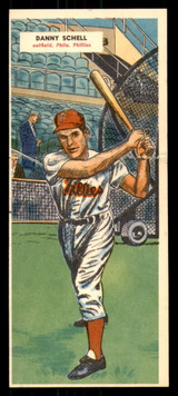 1955 Topps Double Header #81 Danny Schell/Gus Triandos Ex-Mint