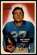 1955 Bowman #1 Doak Walker VG-EX  ID: 243676