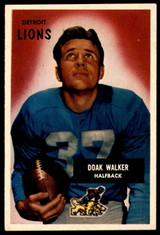 1955 Bowman #1 Doak Walker VG-EX  ID: 243677