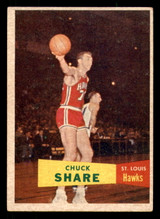 1957 Topps #61 Chuck Share Excellent+  ID: 288281