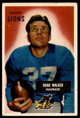 1955 Bowman #1 Doak Walker Very Good  ID: 222496