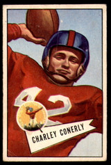1952 Bowman Small #63 Charley Conerly Very Good  ID: 225409