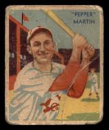 1934-36 Diamond Stars #26 Pepper Martin Poor